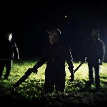 You're next: una scena notturna tratta dal film horror
