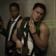 Channing Tatum con Jamie Foxx in Sotto Assedio - White House Down