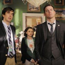 Channing Tatum con Nicolas Wright e Joey King in Sotto Assedio - White House Down