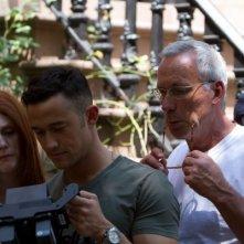 Don Jon: Julianne Moore e Joseph Gordon-Levitt intenti a riguardare il girato