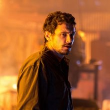Homefront: James Franco corrucciato in una scena del film