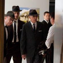 Parkland: Paul Giamatti e Billy Bob Thornton in una scena del film