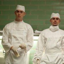 Parkland: Zac Efron e Colin Hanks in una scena del film