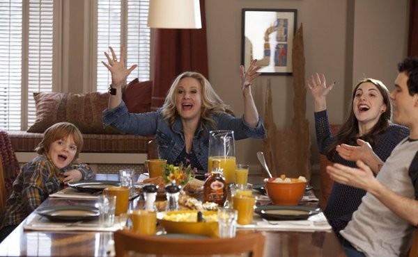 The Michael J Fox Show Katie Finneran Juliette Goglia Conor Romero E Jack Gore In Una Scena Della Se 285319