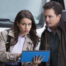 The Michael J. Fox Show: Michael J. Fox e Ana Nogueira in una scena della serie