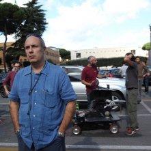 Universitari - Molto pià che amici: il regista Federico Moccia sul set