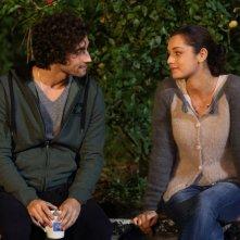 Universitari - Molto più che amici: Simone Riccioni e Sara Cardinaletti in una scena del film