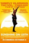 Sunshine on Leith: la locandina del film