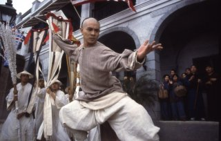 Jet Li in una scena di Once Upon a Time in China