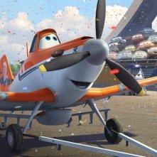 Planes: Dusty in una scena del film