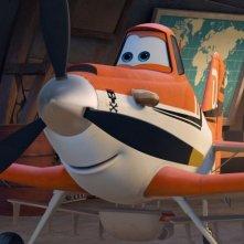 Planes: Dusty in una scena tratta dal film 'aereo' della Disney