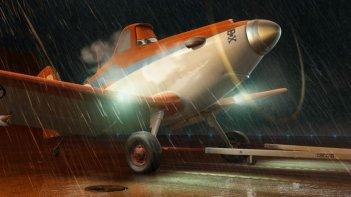 Planes: Dusty in una scena tratta dal nuovo film animato della Disney