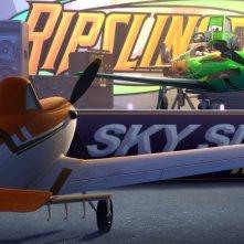 Planes: una scena tratta dal film 'aereo' della Disney