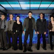 Almost Human: una foto promozionale del cast della serie