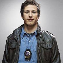 Brooklyn Nine-Nine: Andy Samberg in una foto promozionale della serie