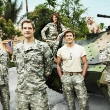 Enlisted: una foto promozionale del cast della serie
