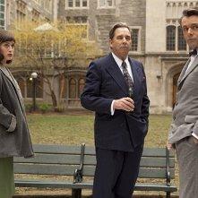 Masters of Sex: Beau Bridges, Lizzy Caplan e Michael Sheen in una scena del pilot