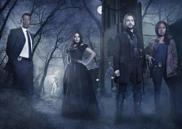 Sleepy Hollow: Orlando Jones, Tom Mison, Katia Winter e Nicole Beharie in una foto pronozionale della serie