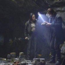 Sleepy Hollow: Tom Mison e Nicole Beharie in una scena della serie