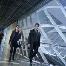 The Tomorrow People: Peyton List, Luke Mitchell e Robbie Amell in una scena della serie
