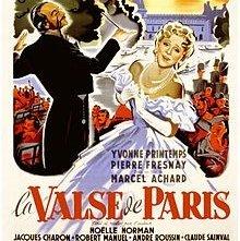 Il valzer di Parigi: la locandina del film