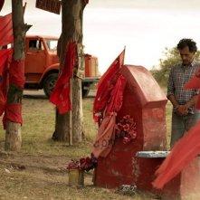Las acacias: Germán de Silva è Rubén in una scena del film