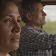 Las acacias: Hebe Duarte con Germán de Silva in una scena del film