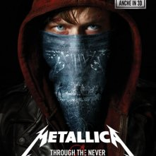 Metallica 3D - Through the Never: la locandina italiana