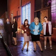 Super Fun Night: una foto promozionale del cast della serie