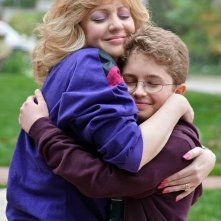 The Goldbergs: Wendi McLendon-Covey e Sean Giambrone in una scena della serie