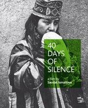 40 Days of Silence: la locandina del film