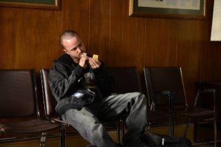 Breaking Bad: Aaron Paul in una scena dell'episodio Blood Money