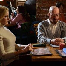Breaking Bad: Bryan Cranston ed Anna Gunn nell'episodio Confessions
