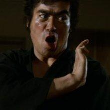 Sonny Chiba in azione nel film Il teppista