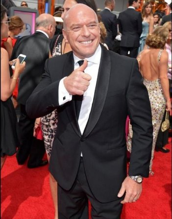 Emmy 2013: Dean Norris sul tappeto rosso