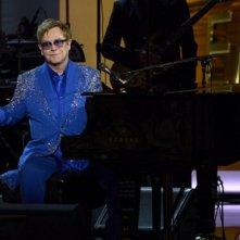 Emmy 2013: Elton John durante la cerimonia di premiazione