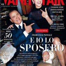 Francesca Pascale con Silvio Berlusconi sulla copertina di Vanity Fair Italia (settembre 2013)