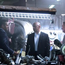 Fast & Furious 7: Vin Diesel, Paul Walker e Kurt Russell sul set