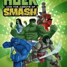 La locandina di Hulk and the Agents of S.M.A.S.H.