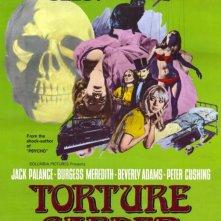 Il giardino delle torture: la locandina del film