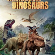 Walking with Dinosaurs 3D: un suggestivo poster
