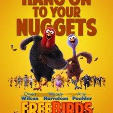 Free Birds: nuovo poster del film