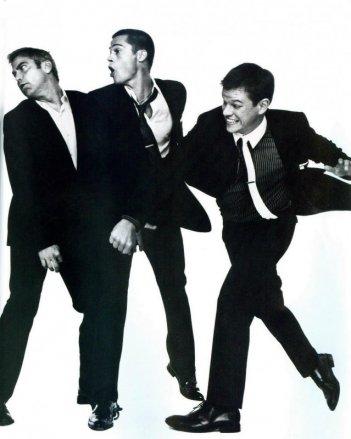 Il 'nuovo Rat Pack': George Clooney, Brad Pitt e Matt DamonGeorge Clooney