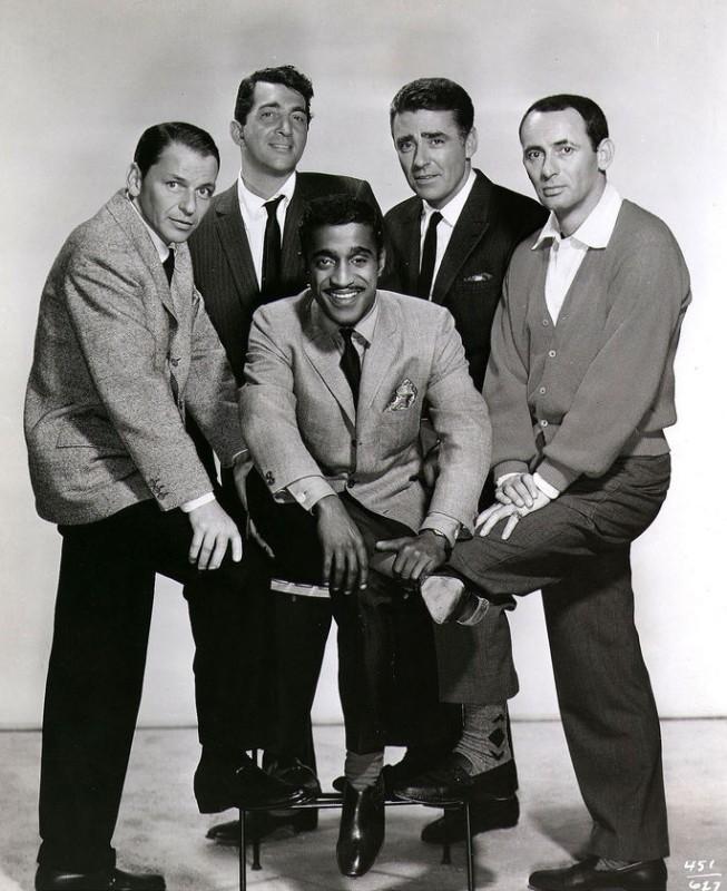 Il Rat Pack Frank Sinatra Dean Martin Sammy Davis Jr Joey Bishop E Peter Lawford 286838