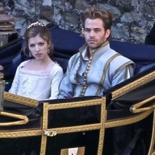 Into the Woods: Chris Pine e Anna Kendrick sul set