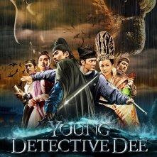 Young Detective Dee: Rise of the Sea Dragon 3D: la locandina del film