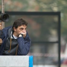 Aspirante vedovo: il regista Massimo Venier sul set del film