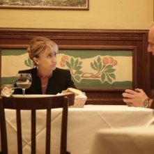 Aspirante vedovo: Luciana Littizzetto moglie perfida in una scena del film con Ale di Ale e Franz