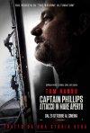 Captain Phillips - Attacco in mare aperto: il poster italiano del film