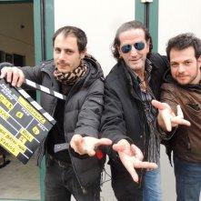 Geekerz: il regista della web serie Michele Bertini Malgarini in un'immagine dal set